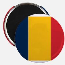 "Chad Flag 2.25"" Magnet (10 pack)"