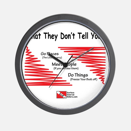They Don't Say Wall Clock