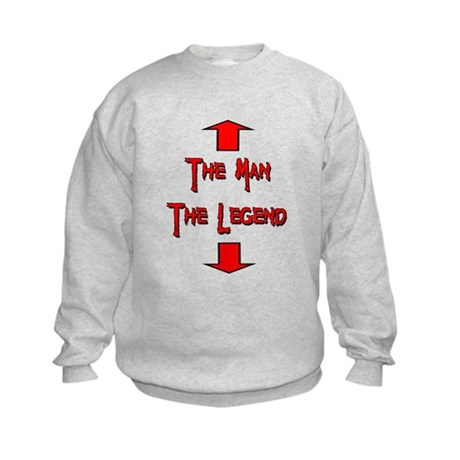 The Man The Legend Kids Sweatshirt