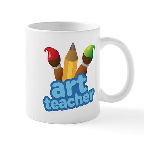 Cute Art Teacher Mug