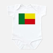 Benin Flag Infant Creeper