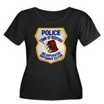 Bedford Mass Police Women's Plus Size Scoop Neck D