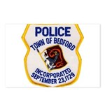 Bedford Mass Police Postcards (Package of 8)
