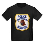 Bedford Mass Police Kids Dark T-Shirt