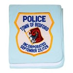 Bedford Mass Police Infant Blanket