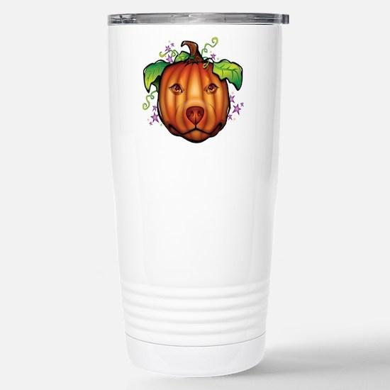 The Great Pupkin Stainless Steel Travel Mug