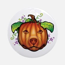 The Great Pupkin Ornament (Round)