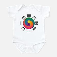 Spectral Yin-Yang Infant Bodysuit