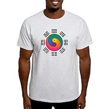 Spectral Yin-Yang T-Shirt