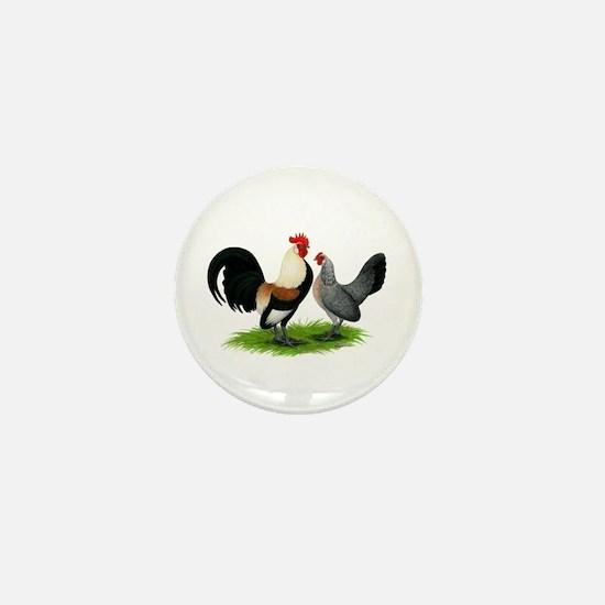 Dutch Cream Light Brown Banta Mini Button
