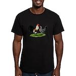 Dutch Cream Light Brown Banta Men's Fitted T-Shirt