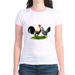 Dutch Cream Light Brown Banta Jr. Ringer T-Shirt