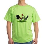Dutch Cream Light Brown Banta Green T-Shirt