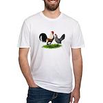 Dutch Cream Light Brown Banta Fitted T-Shirt