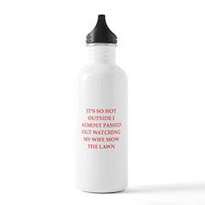 funny joke for men Water Bottle