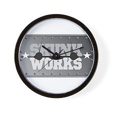 Skunk Works Wall Clock