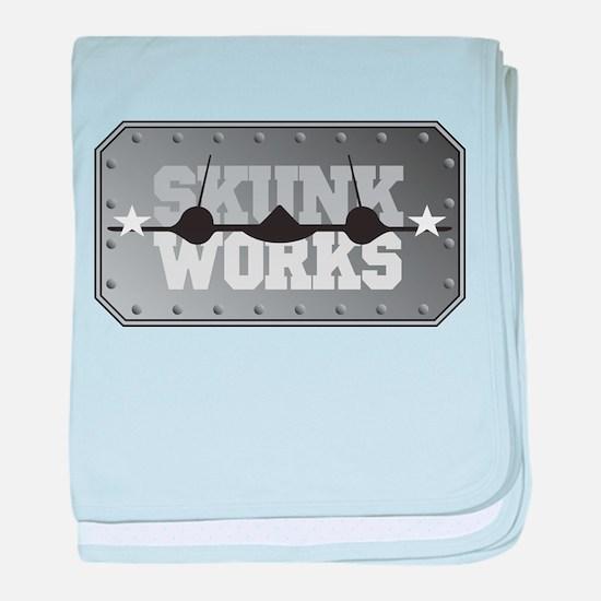 Skunk Works Infant Blanket