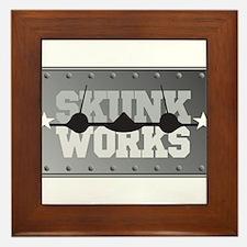 Skunk Works Framed Tile