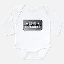 SR-71 Blackbird Long Sleeve Infant Bodysuit