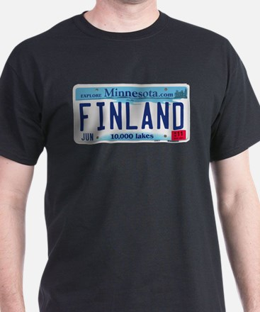 Finland License Plate T-Shirt