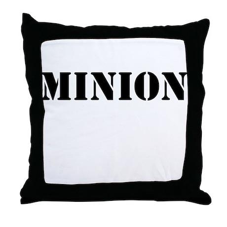 Minion Throw Pillow