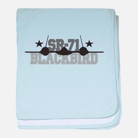 SR-71 Blackbird Infant Blanket