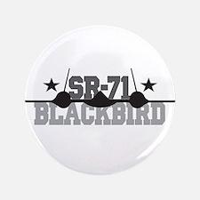 """SR-71 Blackbird 3.5"""" Button (100 pack)"""
