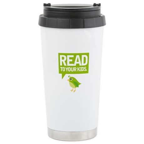 Cute Read To Your Kids Stainless Steel Travel Mug