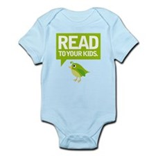 Cute Read To Your Kids Infant Bodysuit