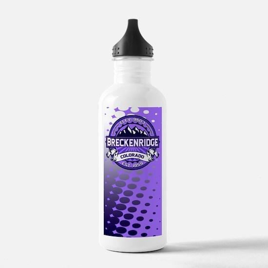 Breckenridge Purple Water Bottle
