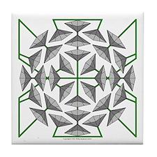 Eclectic Flower 131 Tile Coaster