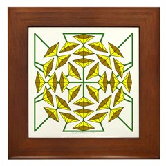 Eclectic Flower 139 Framed Tile