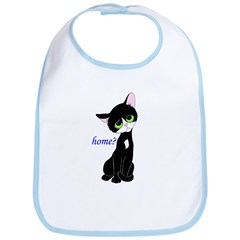 Home? (cat) Bib