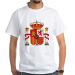 Spain Coat of Arms White T-Shirt