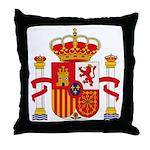 Spain Coat of Arms Throw Pillow