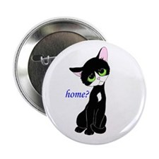 "Home? (cat) 2.25"" Button"