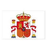 Spain Coat of Arms Postcards (Package of 8)