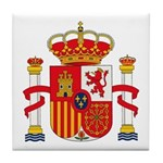 Spain Coat of Arms Tile Coaster