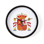 Spain Coat of Arms Wall Clock