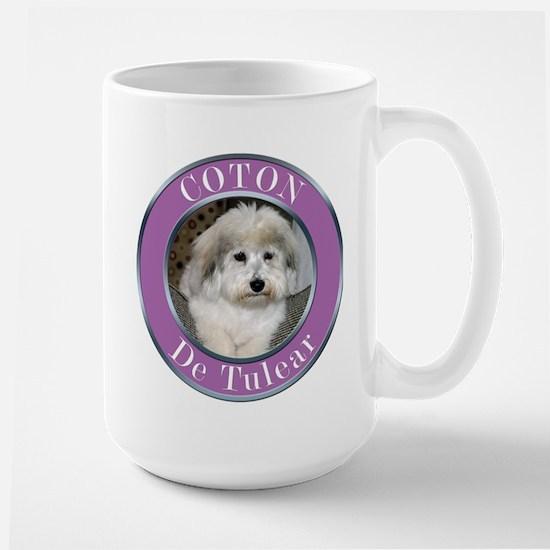 Coton De Tulear Large Mug