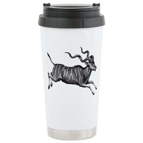 Greater Kudu Stainless Steel Travel Mug