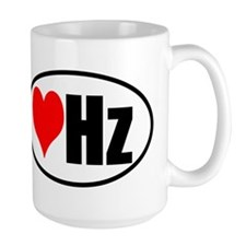 Love Hertz Ceramic Mugs