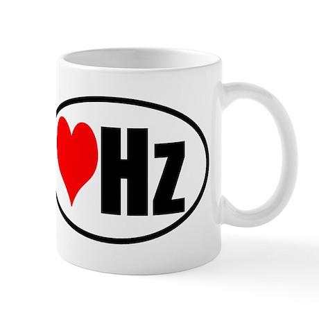 Love Hertz Mug