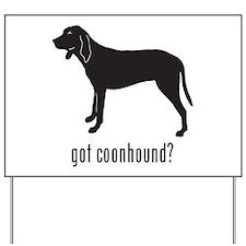 Coonhound Yard Sign