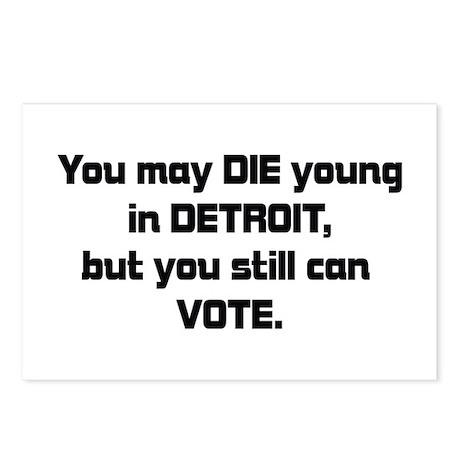 Detroit Politics Postcards (Package of 8)