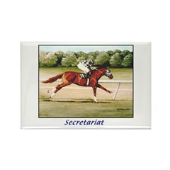Secretariat Rectangle Magnet (10 pack)