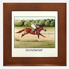Secretariat Framed Tile