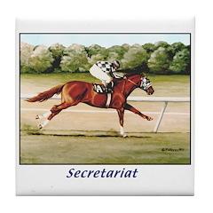 Secretariat Tile Coaster