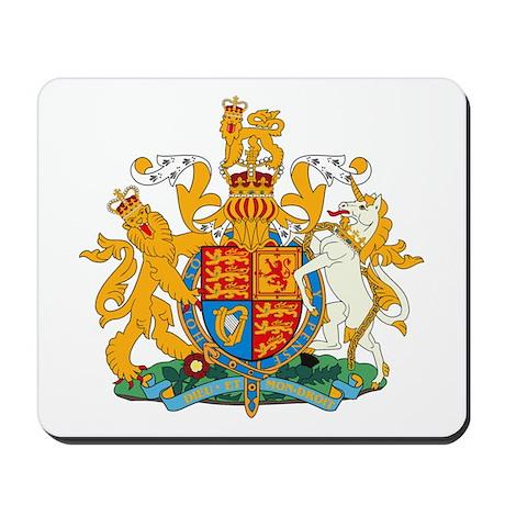 British Coat of Arms Mousepad