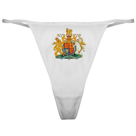 British Coat of Arms Classic Thong